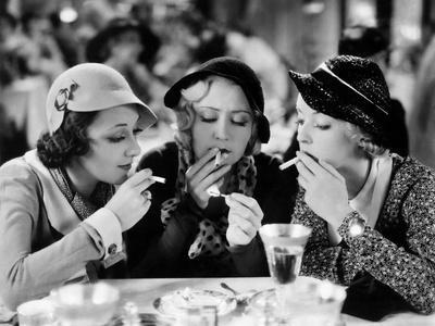Three On A Match, Ann Dvorak, Joan Blondell, Bette Davis, 1932