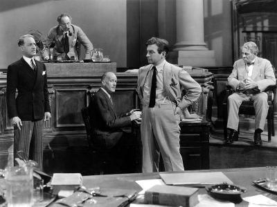 They Won't Forget, Otto Kruger, Leonard Mudie, Claude Rains, E. Alyn Warren, 1937