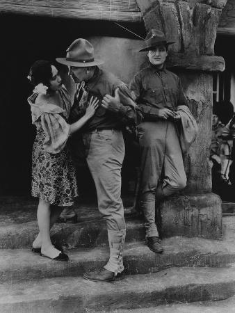 What Price Glory, Dolores Del Rio, Victor McLaglen, Edmund Lowe, 1926