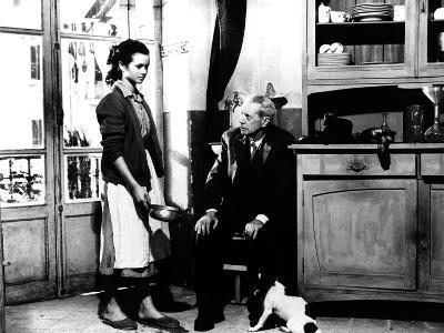 Umberto D, Maria Pia Casilio, Carlo Battisti, 1952