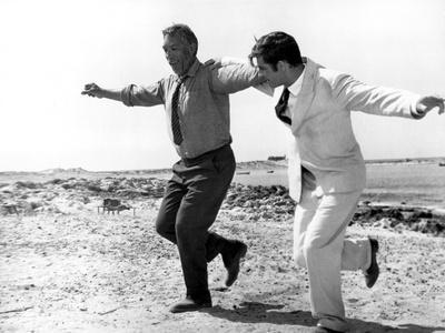 Zorba The Greek, Anthony Quinn, Alan Bates, 1964, Greek Dance