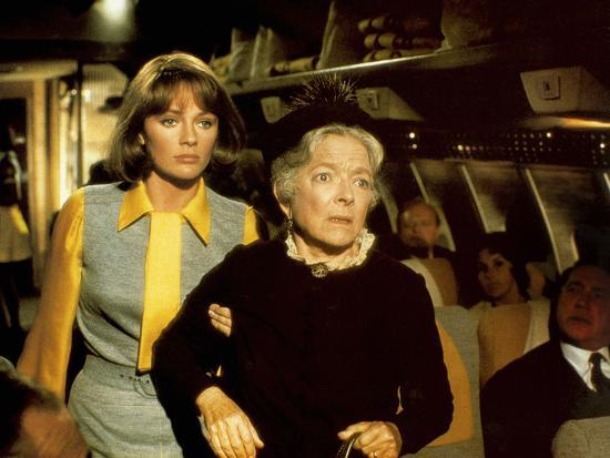 Image result for images of helen hayes in 1970's airports