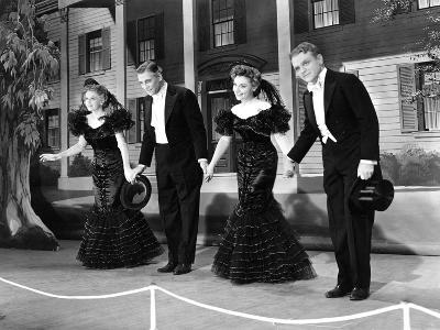 Yankee Doodle Dandy, Rosemary Decamp, Walter Huston, Jeanne Cagney, James Cagney, 1942