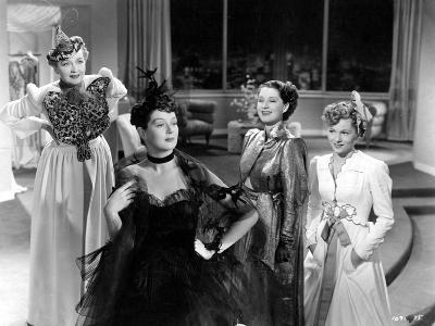 The Women, Hedda Hopper, Rosalind Russell, Norma Shearer, Joan Fontaine, 1939