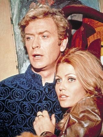 The Italian Job, Michael Caine, Maggie Blye, 1969
