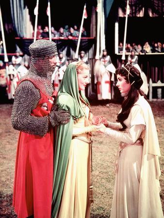 Ivanhoe, Robert Taylor, Joan Fontaine, Elizabeth Taylor, 1952