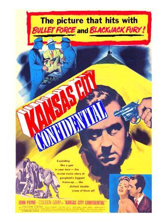 Kansas City Confidential, John Payne, Colleen Gray, John Payne, 1952
