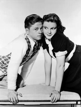 Love Finds Andy Hardy, Mickey Rooney, Judy Garland, 1938