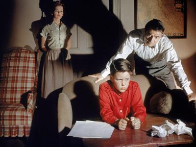 Bigger Than Life, Barbara Rush, Christopher Olsen, James Mason, 1956