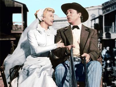 Calamity Jane, Doris Day, Howard Keel, 1953