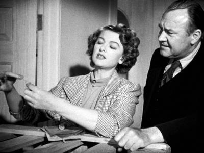 Mr. Blandings Builds His Dream House, Myrna Loy, Emory Parnell, 1948