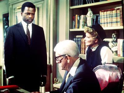Guess Who's Coming To Dinner, Sidney Poitier, Spencer Tracy, Katharine Hepburn, 1967