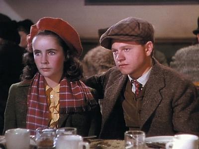 National Velvet, Elizabeth Taylor, Mickey Rooney, 1944