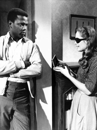 A Patch Of Blue, Sidney Poitier, Elizabeth Hartman, 1965