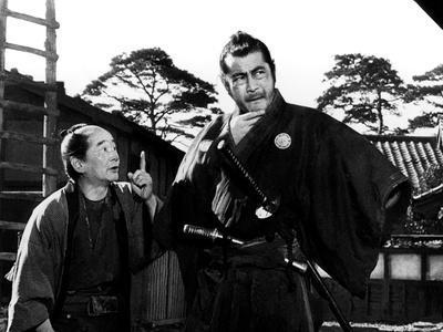 Yojimbo, (aka The Bodyguard), Ikio Sawamura, Toshiro Mifune, 1961