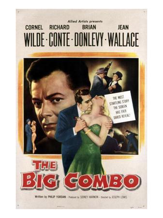 The Big Combo, Cornel Wilde, Richard Conte, Jean Wallace, 1955