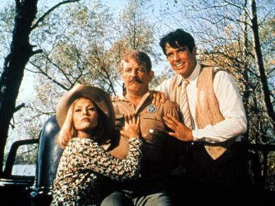Bonnie And Clyde, Faye Dunaway, Denver Pyle, Warren Beatty, 1967