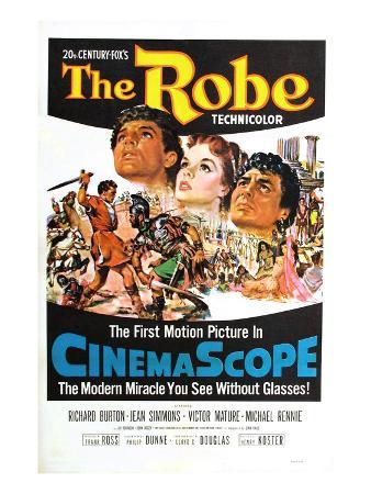 The Robe, Richard Burton, Jean Simmons, Victor Mature, 1953