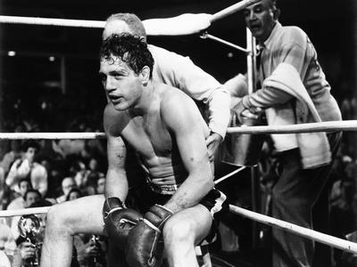 Somebody Up There Likes Me, Paul Newman, Everett Sloane, Sammy White, 1956
