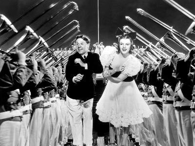 Strike Up The Band, Mickey Rooney, Judy Garland, 1940