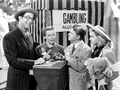 Strike Up The Band, Phil Silvers, Larry Nunn, Mickey Rooney, June Preisser, 1940