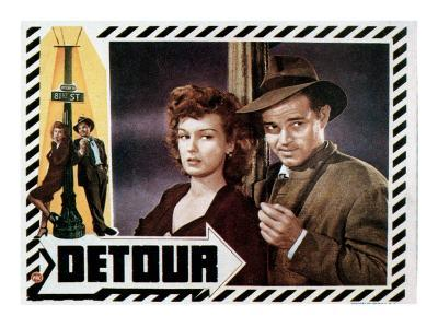 Detour, Ann Savage, Tom Neal, 1945