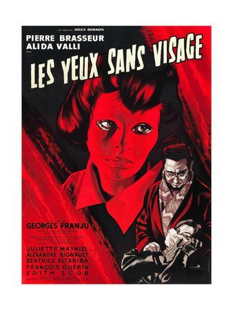 Eyes Without A Face, (aka Les Yeux Sans Visage), Edith Scob, Pierre Brasseur, 1959