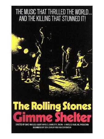 Gimme Shelter, Rolling Stones, 1970