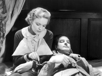 The 39 Steps, Madeleine Carroll, Robert Donat, 1935