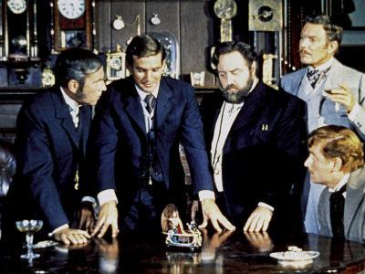 The Time Machine, Whit Bissell, Rod Taylor, Sebastian Cabot, Tom Helmore, 1960