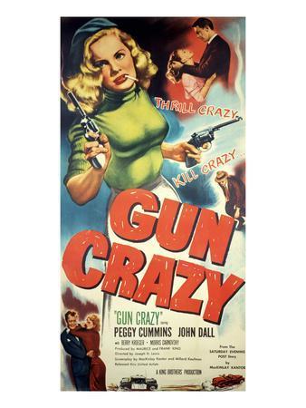 Gun Crazy, Berry Kroeger, Peggy Cummins, John Dall, 1950