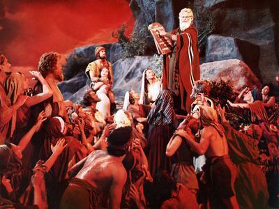 The Ten Commandments, John Derek, Debra Paget, Yvonne De Carlo, Charlton Heston, 1956
