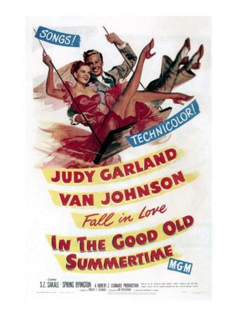 In The Good Old Summertime, Van Johnson, Judy Garland, 1949