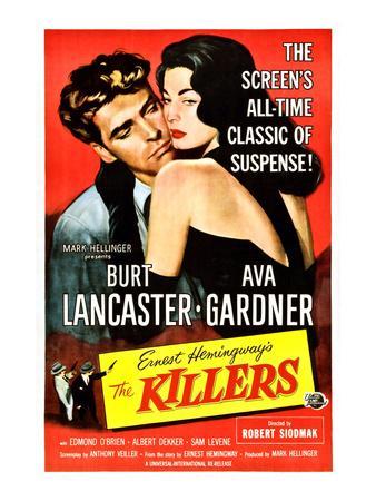 The Killers, Burt Lancaster, Ava Gardner, 1946
