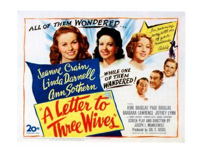 A Letter To Three Wives, 1949