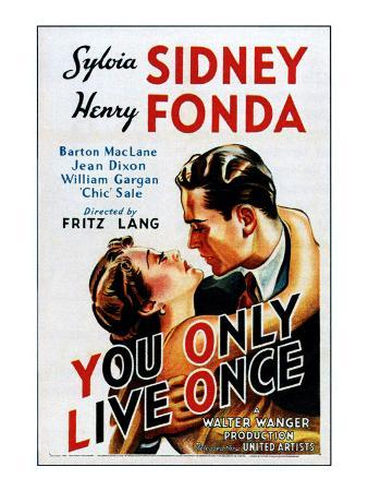 You Only Live Once, Sylvia Sidney, Henry Fonda, 1937