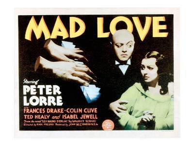 Mad Love, Peter Lorre, Frances Drake, 1935
