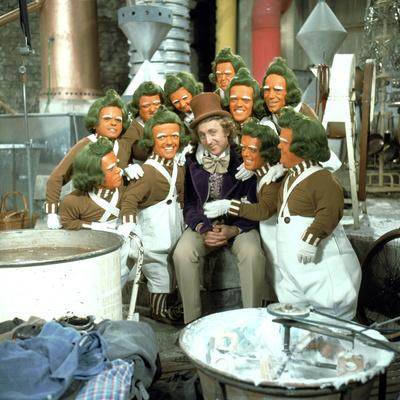 Willy Wonka And The Chocolate Factory, Gene Wilder, Oompa-Loompas, 1971