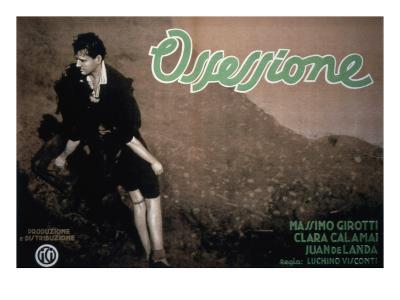 Ossessione, Clara Calamai, Massimo Girotti, 1943
