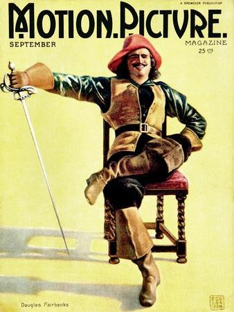 Douglas Fairbanks, Sr., In The Three Musketeers, September 1921