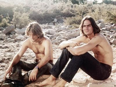 Two-Lane Blacktop, Dennis Wilson, James Taylor, 1971
