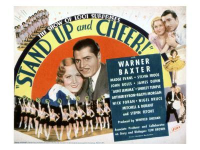 Stand Up And Cheer!, Madge Evans, Warner Baxter, 1934