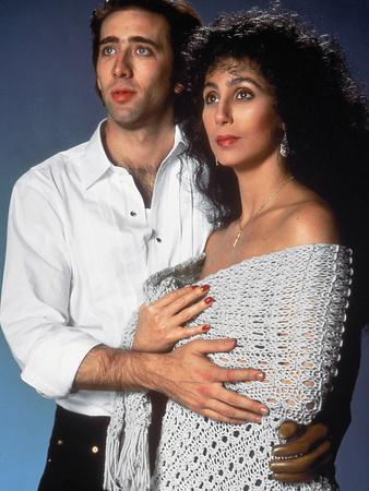 Moonstruck, Nicolas Cage, Cher, 1987