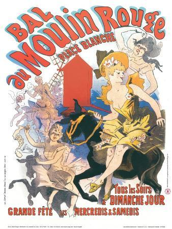 1889 Moulin Rouge Place Blanche