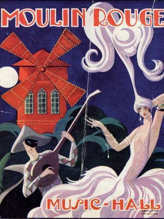 1924 Moulin Rouge Programme