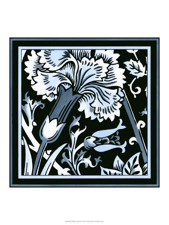 Blue and White Floral Motif I