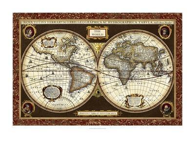 Decorative World Map