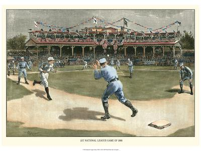 National League Game 1886