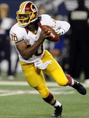 Dallas Cowboys and Washington Redskins NFL: Robert Griffin III