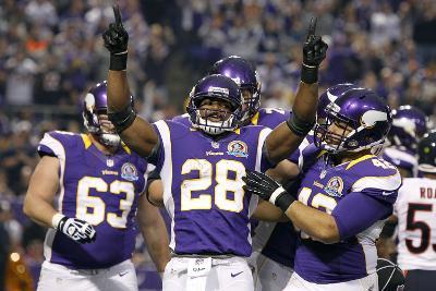 Chicago Bears and Minnesota Vikings NFL: Adrian Peterson